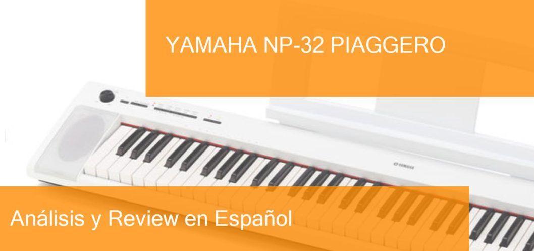 review demo test yamaha-np-32-piaggero